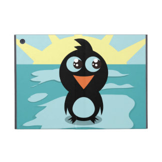 Cute Penguin iPad Mini Powis Case Covers For iPad Mini