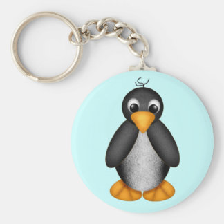 Cute Penguin Key Chain - Customized
