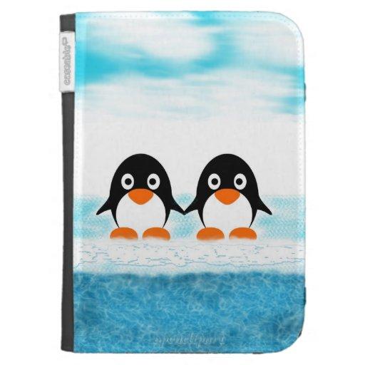 Penguin Book Kindle Cover ~ Cute penguin kindle case customizablg covers zazzle