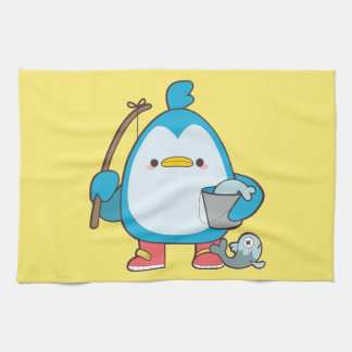Cute Penguin Kitchen Towel