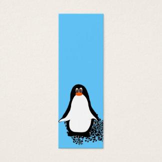 Cute Penguin Mini Business Card