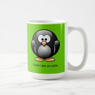 Cute Penguin Mug Green