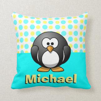 Cute Blue Penguin Pillows - Decorative & Throw Pillows Zazzle