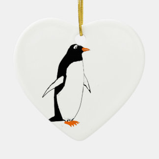 Cute Penguin. Christmas Ornament