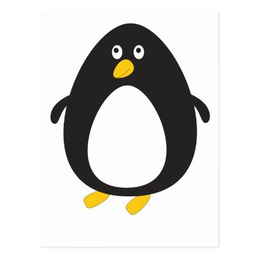 Cute penguin P Post Card