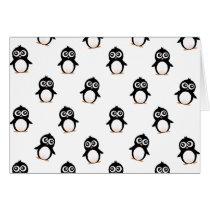 Cute penguin pattern