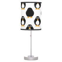 Cute Penguin Pattern Desk Lamp