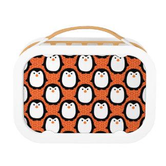 Cute Penguin Pattern Skin Lunch Box