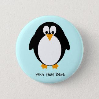 Cute Penguin Pinback Button