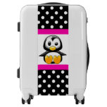 luggage, travel, pink, black, black and white,