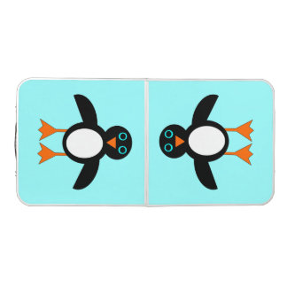 Cute Penguin Pong Table