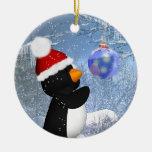 Cute Penguin Tree Ornament - Christmas Ornament