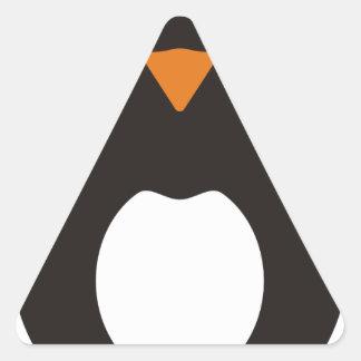 Cute Penguin Triangle Sticker