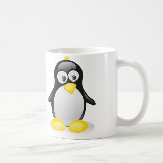 Cute Penguin - White Coffee Mug