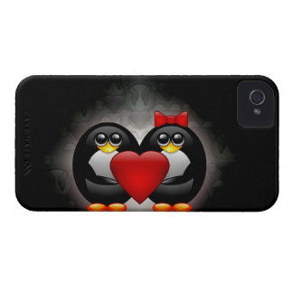 Cute Penguins iPhone 4 Case