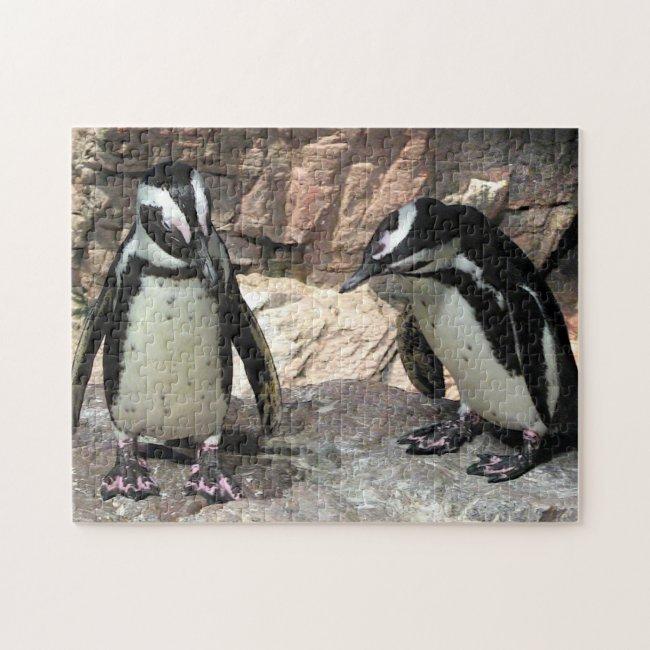 Cute Penguins Jigsaw Puzzle