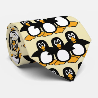 Cute Penguins Neck Tie