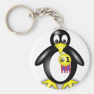 Cute Penquin 1 Award Keychain