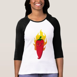 Cute Pepper Chu $22.95 Womens Raglan shirt