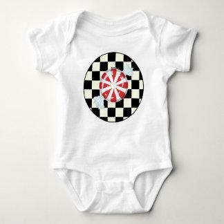 Cute Peppermint Candy Baby T Shirt
