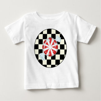 Cute Peppermint Candy Baby Tees
