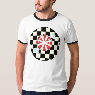 Cute Peppermint Candy Men's Tees