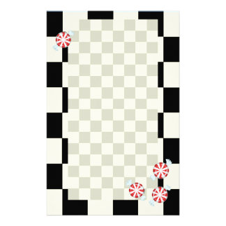 Cute Peppermint Candy Stationery