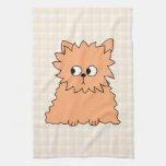 Cute Persian Cat. Ginger Orange. Kitchen Towel
