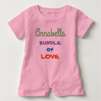 Cute Personalized Baby Rompers Baby Clothing