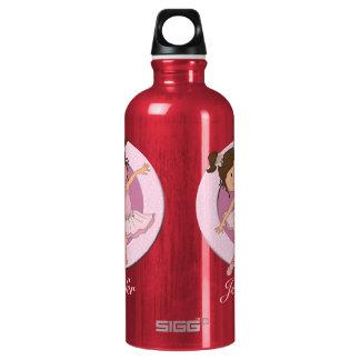Cute Personalized  Ballerina 2 Water Bottle