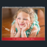 "Cute Personalized Calendars Red Merry Christmas<br><div class=""desc"">It's really easy to make your personalized calendar at Zazzle. If you want your work to be saved and use some time later again or perhaps next year, it's probably the best if you sign in and create an account (don't worry, it's free and really easy). And you'll be able...</div>"