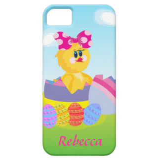Cute Personalized Easter chic iPhone 5 Case