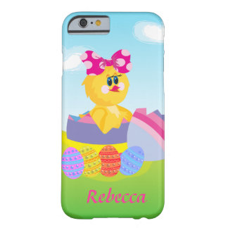 Cute Personalized Easter chic Barely There iPhone 6 Case