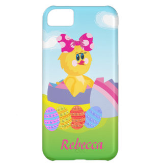 Cute Personalized Easter chic Cover For iPhone 5C
