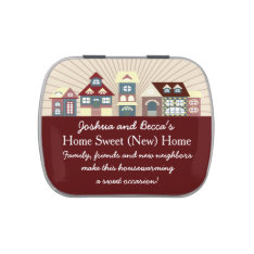 Cute Personalized Housewarming Favors Candy Tin at Zazzle
