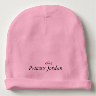 Cute Personalized Little Girl Princess Hat