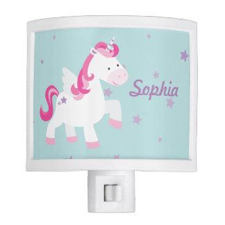 Cute Personalized Magical Unicorn Light Night