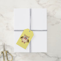 Cute Personalized Owl Gift Tags