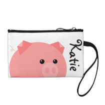 Cute Personalized Pig Clutch