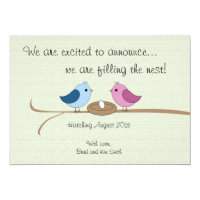 Cute Personalized Pregnancy Announcement
