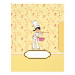 Cute Personalized Recipe Pages Letterhead