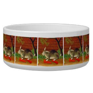 Cute Pet Bunny Rabbit Food Bowl Pet Water Bowls