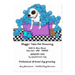 Cute Pet Grooming Business And Appointment Card Large Business Cards (Pack Of 100)