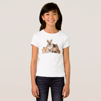Cute Pet Lovers & Pet Owners Girls Graphic T-Shirt