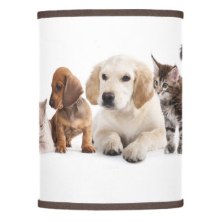 Cute Pet Panorama Lamp Shade