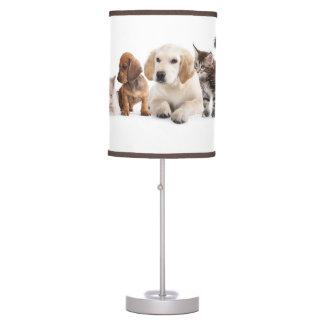 Cute Pet Panorama Table Lamp