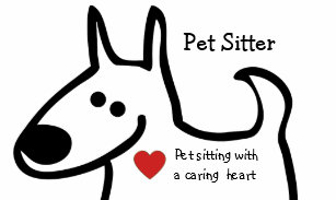 Pet sitter business cards templates zazzle cute pet sitter business cards colourmoves