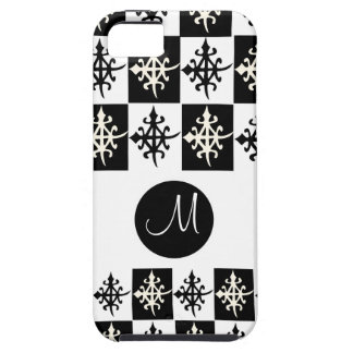 Cute phone covers with Adinkra symbol of Ghana iPhone 5 Cases