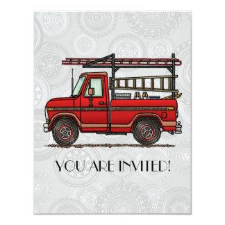 Cute Pickup Truck Card