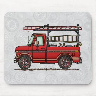 Cute Pickup Truck Mouse Pad